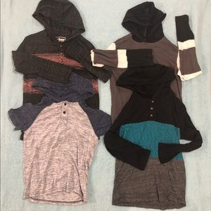 Other - Boys Bundle Size Small Shirt with Hood